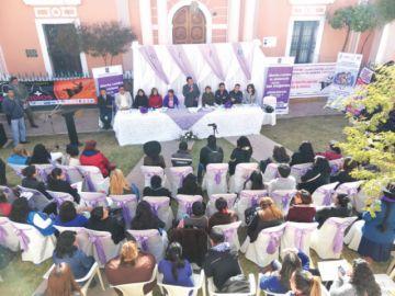 Conforman plataforma interinstitucional para proteger a las mujeres