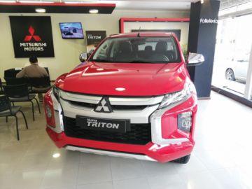 La nueva camioneta Tritón  se presenta en la capital