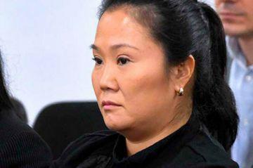 Rechazan la libertad de Keiko Fujimori