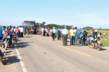 Los soyeros en conflicto  piden mediación de Evo