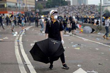 Persiste protesta por extradición en Hong Kong