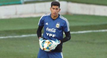 El arquero argentino Esteban Andrada se pierde la Copa América por lesión