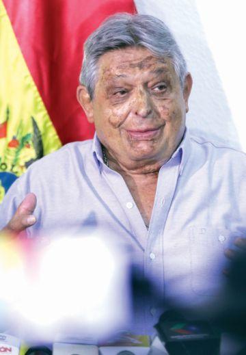Paz Zamora declina y deja  al PDC en la incertidumbre