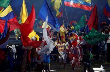 Homenajean a la cultura indígena en la inauguración de la Copa América