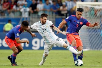 Minuto a minuto: Argentina vs Colombia