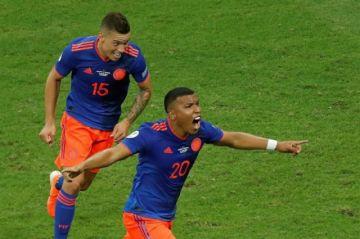 Colombia sorprende a Argentina en el debut con una victoria