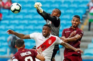 Minuto a minuto: Venezuela vs Perú