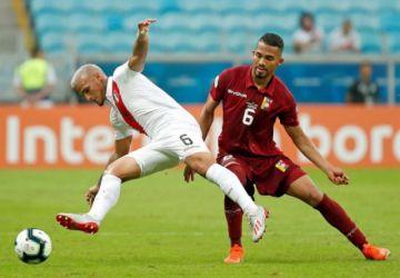 Venezuela y Perú debutan con un tibio empate