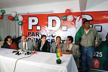 PDC decide seguir pese a la baja de Paz Zamora