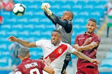 Fariñez permite  el empate a Venezuela
