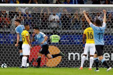 Minuto a minuto: Uruguay vs Ecuador