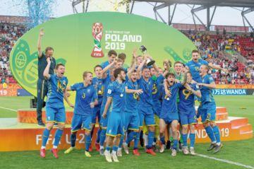 Sub 20: Lunin lleva a Ucrania a su primer título mundialista