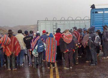 Ravelo: Casi dos semanas  de bloqueo hacia Sucre