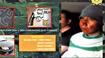 Implican en un asesinato  a dirigente de Adepcoca