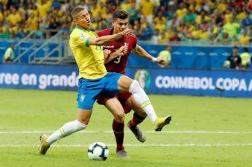 Minuto a minuto: Brasil (0-0) Venezuela