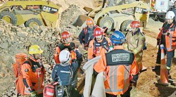No cesa tarea de rescate de restos de minero: Chile