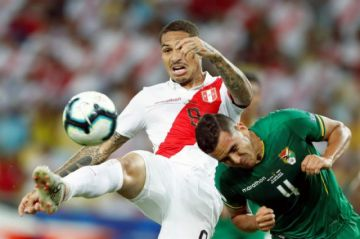 Martins adelanta a la Verde pero Guerrero empata al filo del primer tiempo