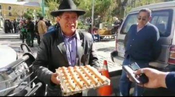 """Quispe ofrece """"huevos"""" al """"Vice"""" para que debata"""