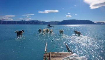 Alarmante deshielo de glaciares en Groenlandia