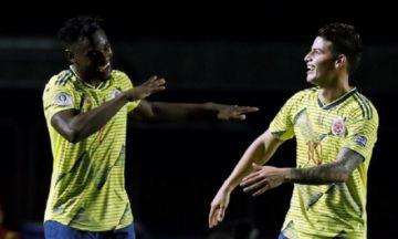 Colombia se asegura un lugar entre los ocho mejores