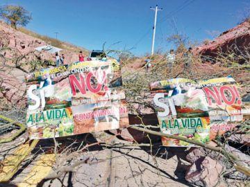 Alistan sanción contra mina en Villa Abecia
