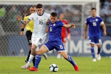 Minuto a minuto: Argentina (1-1) Paraguay