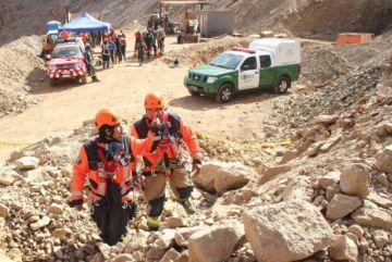Suspenden búsqueda de restos de minero