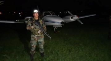 Secuestran avioneta vinculada al tráfico de drogas en Beni