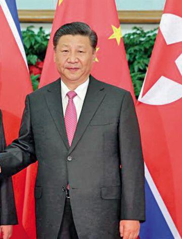 Presidente chino impulsará paz en península de Corea