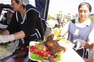 La venta de platos de cuy mueve cerca de Bs 25 mil