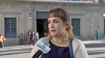 Senadora denuncia acoso político de una periodista