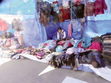 Feria de Invierno: Vendedores se retiran por falta de clientela