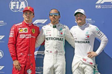 Mercedes domina el GP