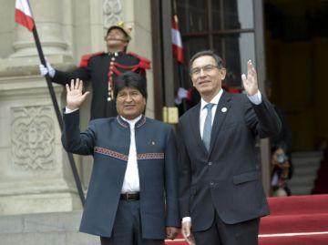 Encuentro Bolivia-Perú abordará tren bioceánico y puerto de Ilo