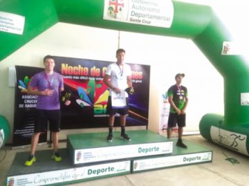 Moscoso, campeón nacional en Santa Cruz