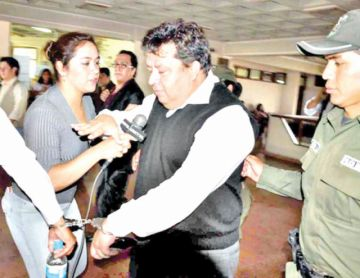 Exjuez de Cochabamba solicita libertad