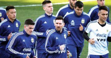 Argentina entrena en Río