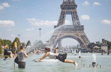 Ola de calor llega a gran parte de países europeos