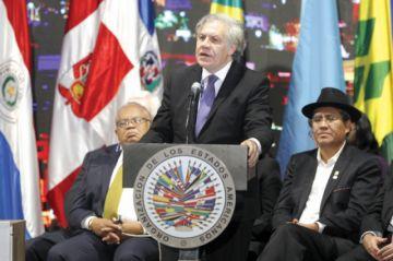 Venezuela domina asamblea de la OEA