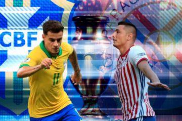 Brasil y Paraguay abren los cuartos de final