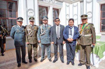 193 años de la Policía Boliviana