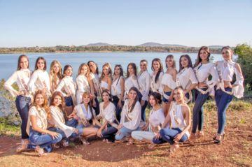 Candidatas listas para la final  de Miss Bolivia 2019