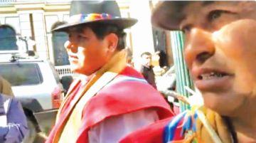 Rafael Quispe irá a Achacachi para batirse a duelo
