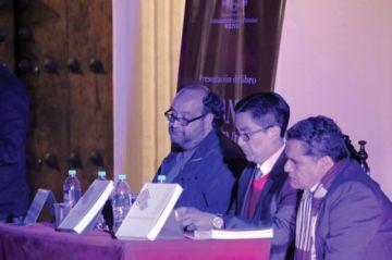 Presentan en Sucre título de Biblioteca del Bicentenario