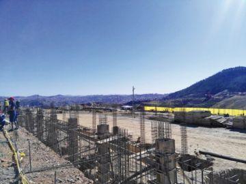 Las obras en la Terminal tienen 6,2% de avance