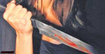 Mujer asesina a su pareja con un cuchillo