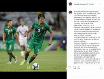 Martins se desahogó tras el fracaso en la Copa América