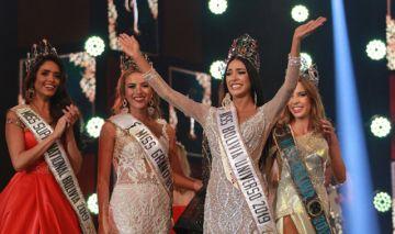 Fabiana Hurtado, de Santa Cruz, es Miss Bolivia 2019