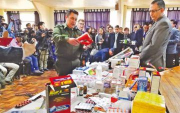 Entidades suman esfuerzos  contra medicamentos ilícitos