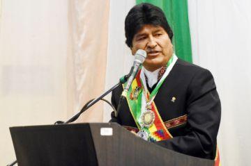 Evo insiste en pedido de reiniciar diálogo con Chile sobre el mar